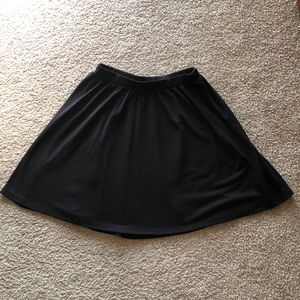 Old Navy Black Skater Skirt Sz XS
